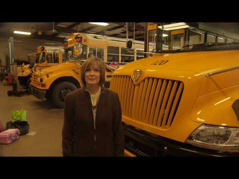 Class B CDL School Bus Pre-trip demonstration 2019