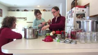 Pressure Canning Vegetarian Black Bean Soup Part 1