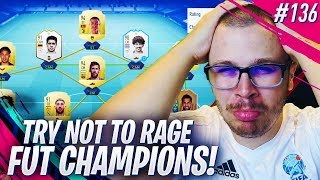 FIFA 19 FUT CHAMPIONS: TRY NOT TO RAGE CHALLENGE! DOING MY BEST TO GET ELITE 1!