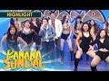 Banana Sundae Sexbomb dancers greet Angelica Panganiban