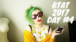 BOOKTUBE-A-THON VLOG: DAY 4 (INSTAGRAM & BOOKTUBE CHALLENGES!)