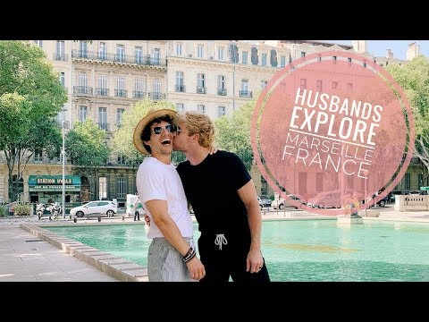 Husbands Explore Marseille France   Gay Couple   PJ And Thomas