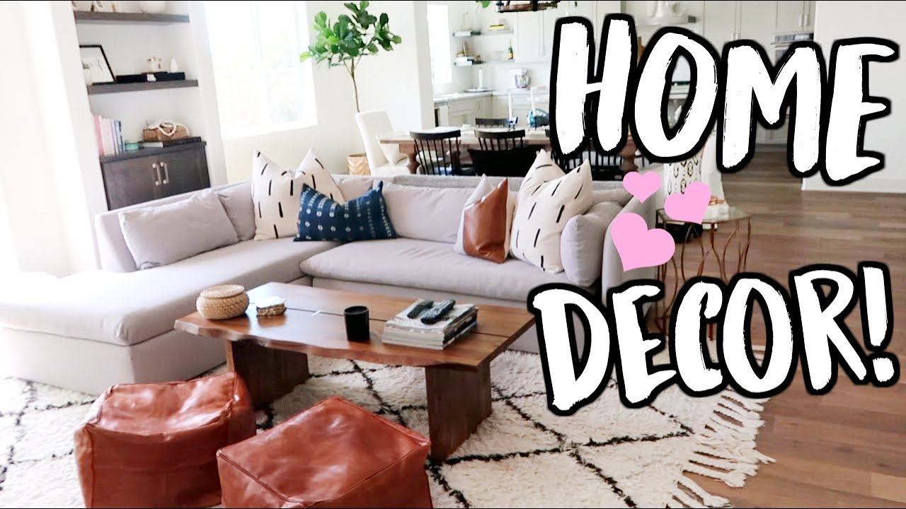 Decorating Our House! New Home Decor!  Youtube
