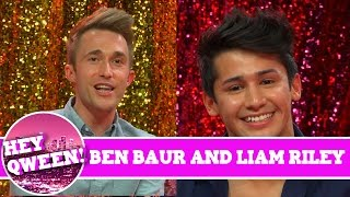 Cockyboys' Liam Riley and Actor Ben Baur on Hey Qween with Jonny McGovern | Hey Qween