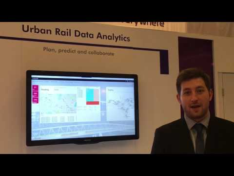 Thales predictive analytics showcased at UITP
