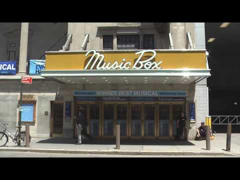 Music Box Theatre On Broadway, New York City