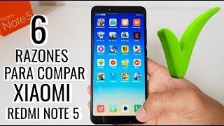 6 Razones para comprar el Xiaomi Redmi Note 5 pro en 2018