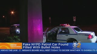 Fake NYPD Car Found In Philly