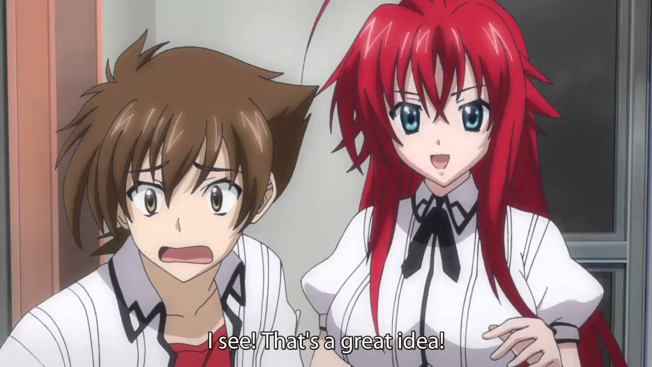 High School dxd season 1 episode 2 - 12hdem.com