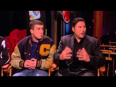 """Behind the scenes """"Ellen"""" interview with high school basketball players from El Paso - Part 1"""