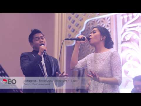 Over And Over Again - Nathan Sykes & Ariana Grande at Balai Kartini | Cover By Deo Entertainment