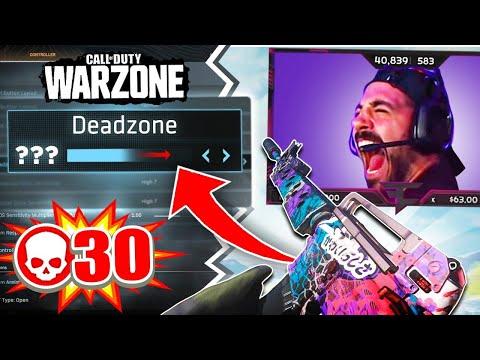 My New Warzone Deadzone Settings + 30 Kill Game!