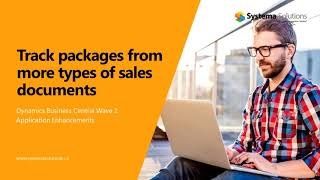 Track Packages from More Types of Sales Documents in Business Central