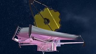 Webb Telescope Deployment Sequence