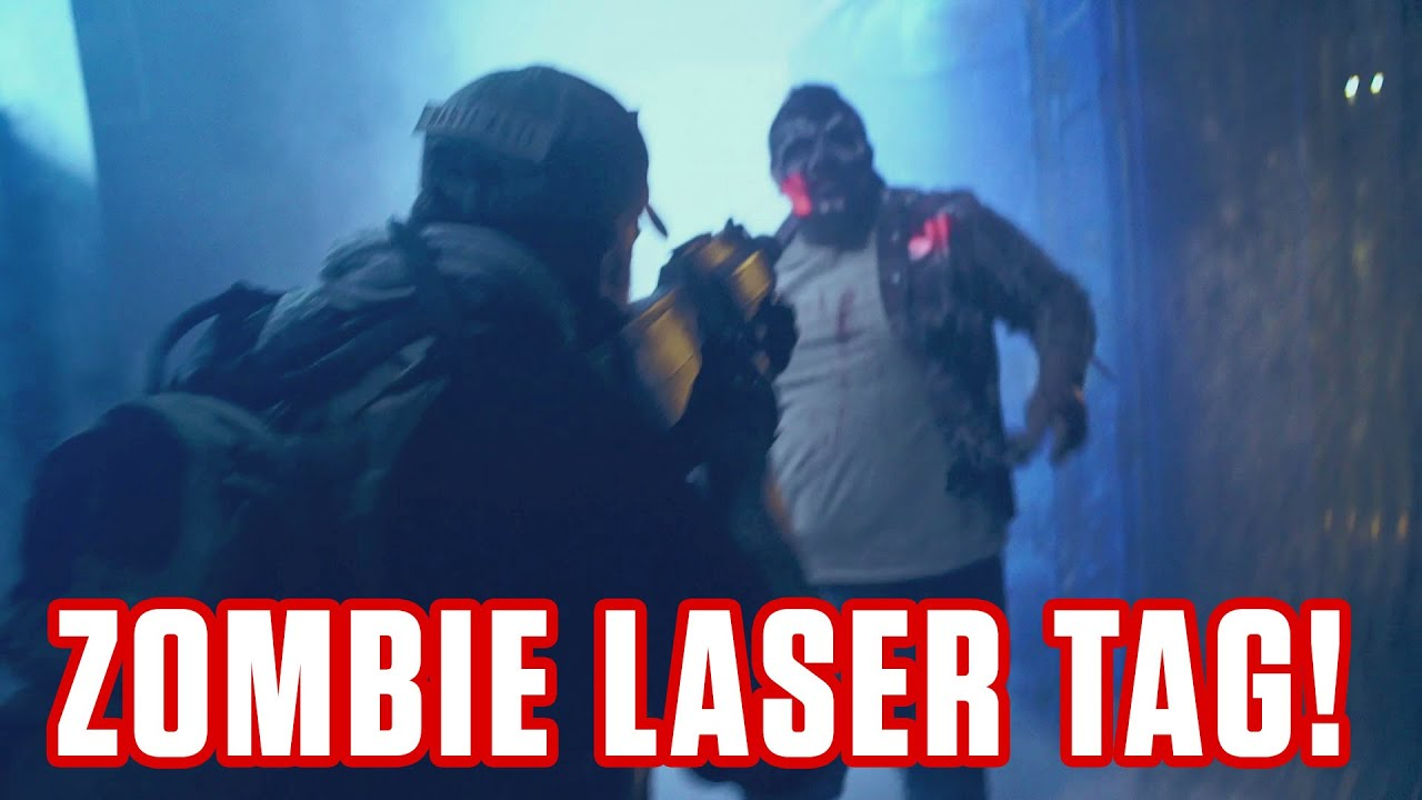 New Interactive Zombie Laser Tag Maze Special Ops