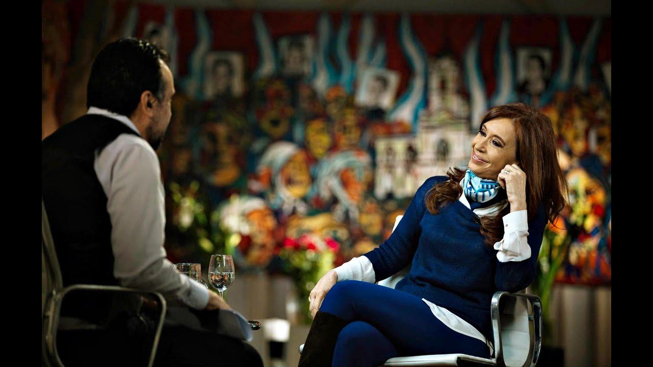 Resultado de imagen para cristina kirchner entrevista