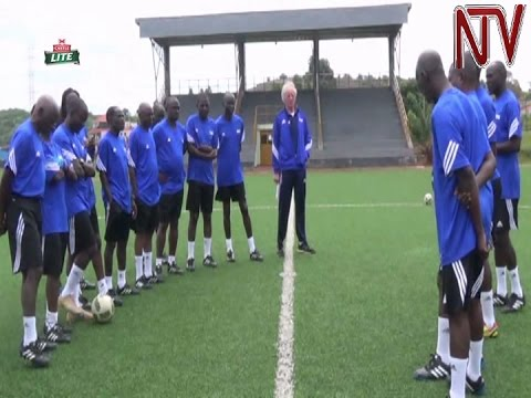 Ugandan football coaches receive training from FIFA