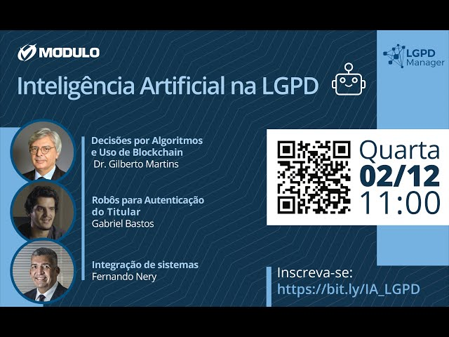 Live Inteligência Artificial na LGPD - 02/12