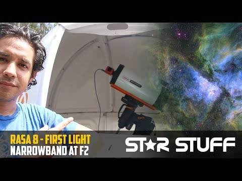 Narrowband with the Celestron RASA 8! EPIC first light review & setup guide.