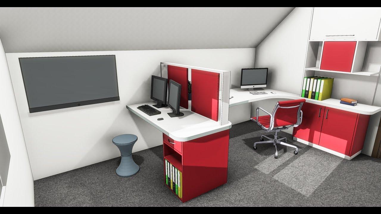 aménagement d'un bureau - youtube