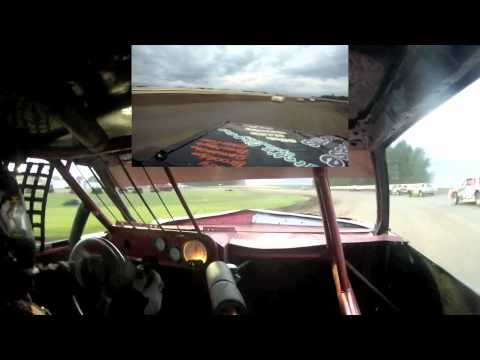Andy Boeckman In-Car Camera Hobby Stock Nationals Sioux Speedway June 28th