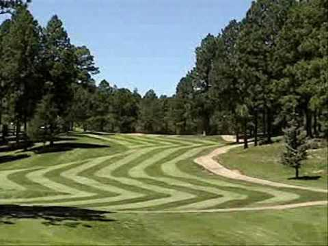 first hole of inn of the mountain gods golf course ruidoso nm