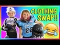 GIRL VS BOY CLOTHES SWAP CHALLENGE | We Are The Davises