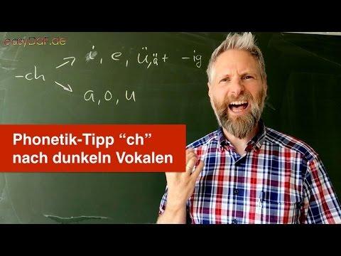 Deutsch lernen mit Flüchtlingen - Phonetik-Tipp -ch, Teil 3