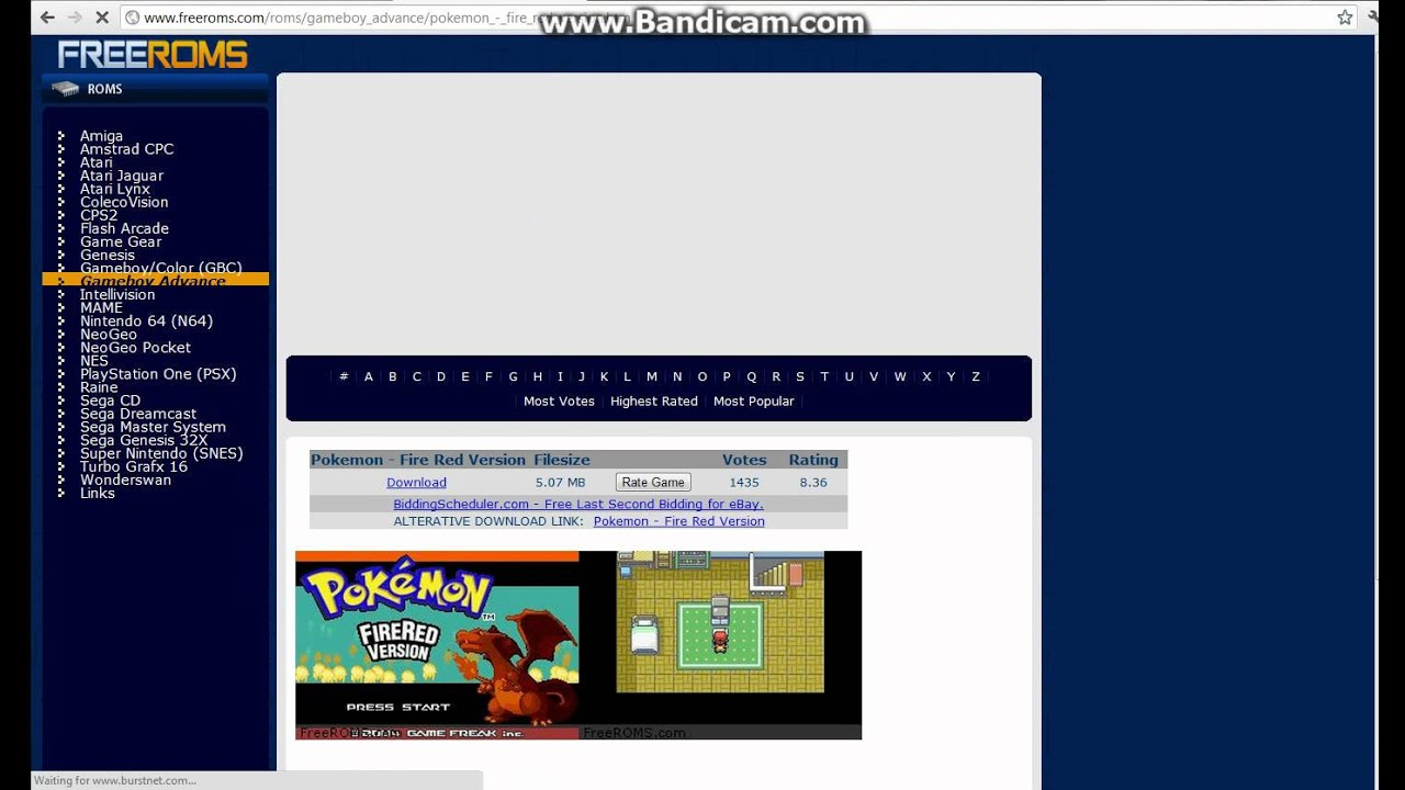 pokemon fire red fixed version free download vba youtube. Black Bedroom Furniture Sets. Home Design Ideas