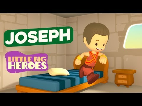 Bible Stories for Kids - Joseph - Little Big Heroes