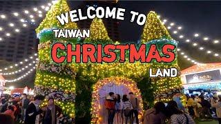 TAIWAN CHRISTMAS LAND| DAMANG DAMA MO ANG PASKO DITO