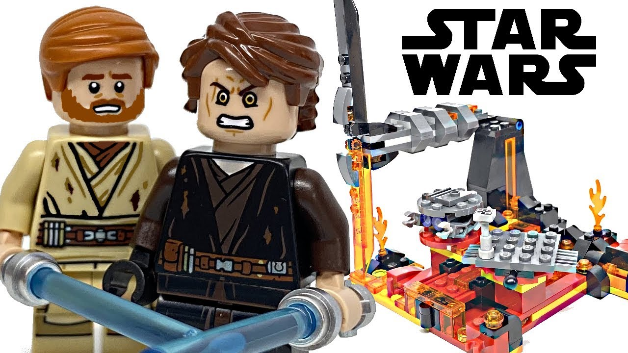 Lego Star Wars Duel On Mustafar Review 2020 Set 75269 Youtube