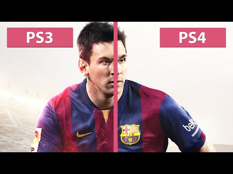 FIFA 15 - PS3 vs. PS4 Graphics Comparison