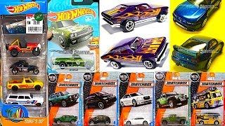 New 2018 Hot Wheels Cars And Matchbox J Case!