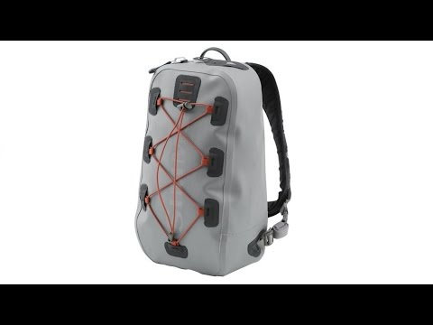4ce755120235 A review of the new 2016 Simms Dry Creek Z Sling Pack - YouTube