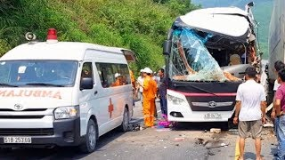 Tai nạn thảm khốc ở Đèo Hải Vân mới nhất - Du khách Hàn Quốc bị thương nặng