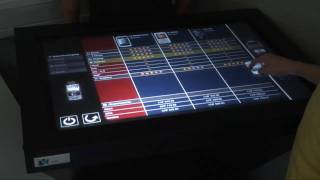 to-fuse multi touch platform: salestable