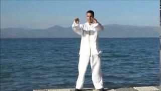 Αιωριση των Χεριων(Μπαι Μπι) Chi Gong  with Medo Attalla Τσι Κονγκ Ελλάδα