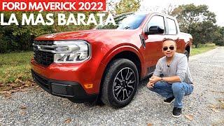 Nueva Ford MAVERICK 2022  La pickup más barata