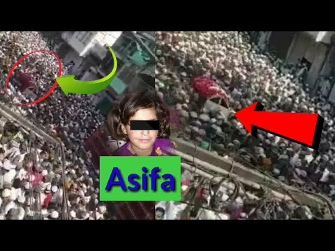 Asifa prayer meet ATTENDED BY  50 Lakh people from all Indian - asifa kathua case | asifa news 2018