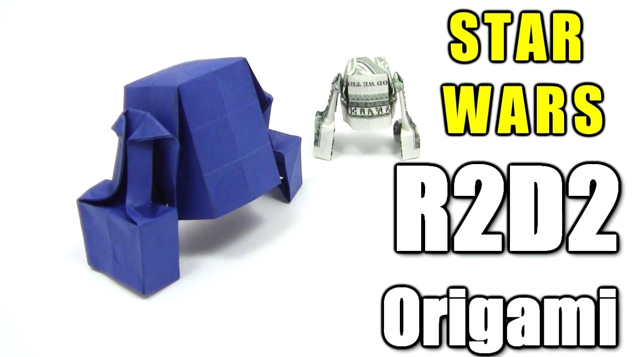 Origami Star Wars R2d2 By Michael Shannon Dollar Origami Tutorial