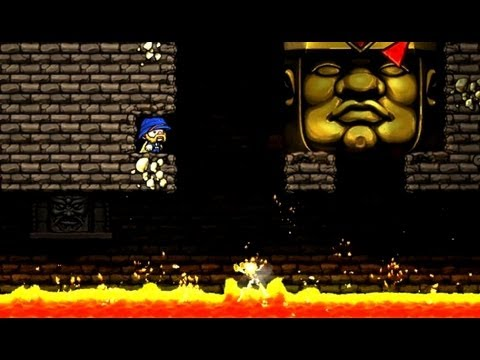 Spelunky Daily, 13th of August 2013 - Tight spot