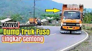 Konvoi Dump Truck  Mitsubishi Fuso