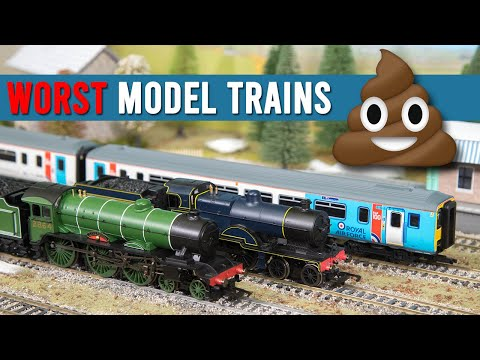 The Worst Model Trains of 2019