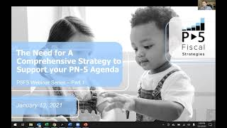 Webinar Series #1 - The Need for a Comprehensive Strategy to Support your Prenatal-5 Agenda