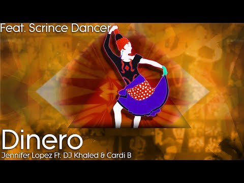 Just Dance 2019: Dinero By Jennifer Lopez Ft. DJ Khaled & Cardi B - Gameplay Ft. Scrince Dancer