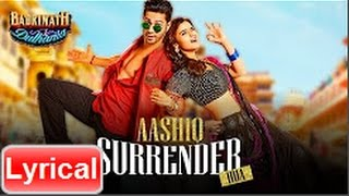 Aashiq Surrender Hua Song with lyrics | Varun, Alia |Badrinath Ki Dulhania