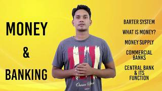 Money & Banking Concept | Economics class 12 notes | Cbse economics | Macroeconomics