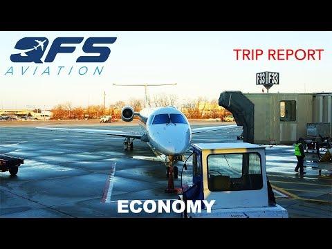 TRIP REPORT | American Eagle - ERJ 145 - Islip (ISP) To Philadelphia (PHL) | Economy