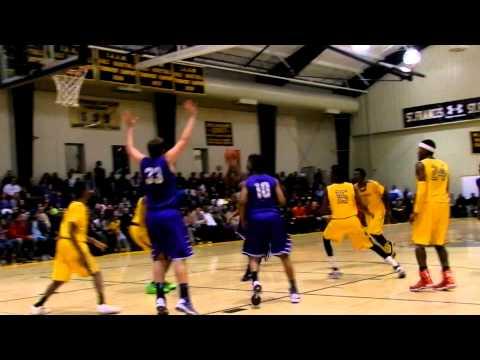 McNeil jumper Mount St. Joseph/St. Frances boys basketball 1/2/13